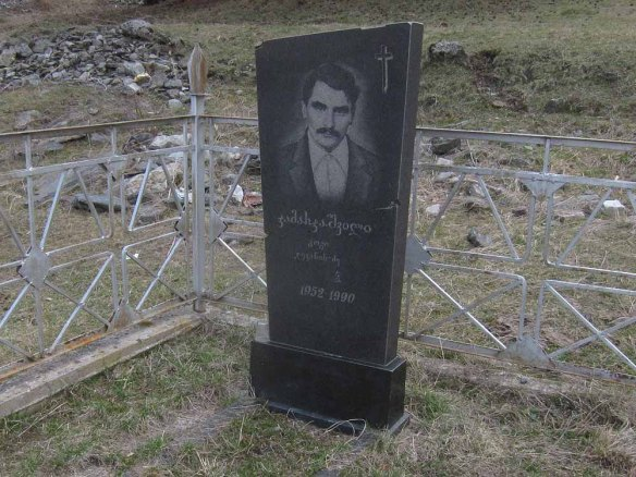 Gravestones around Kazbegi (1)